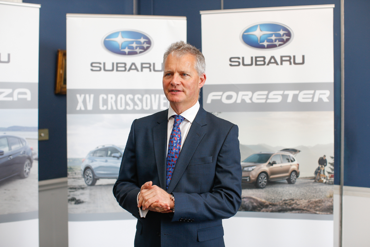 Niall Meagher announces Subaru Sponsorship