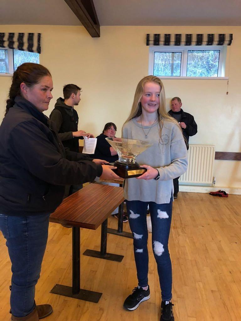 Natasha Hemeryck Overall Winner Winter Topper Championship 2018