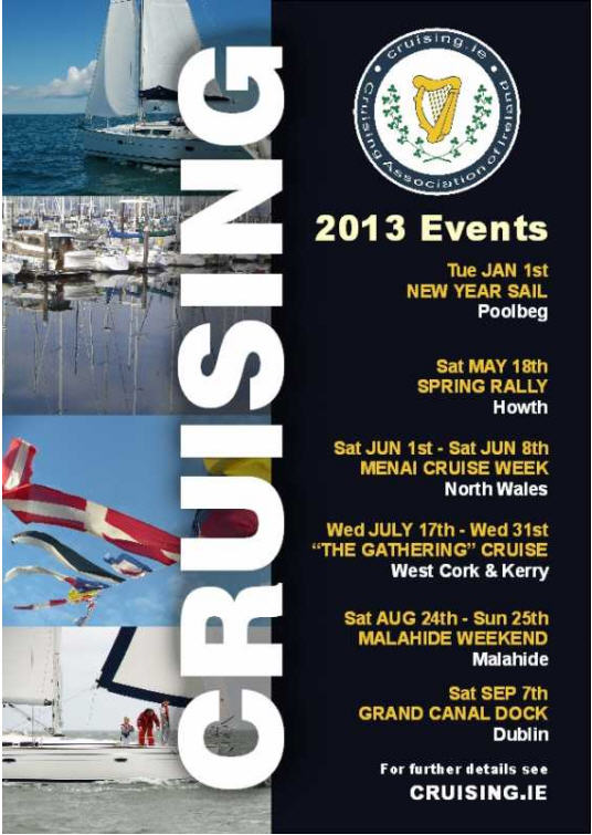 Cruising Programme 2013