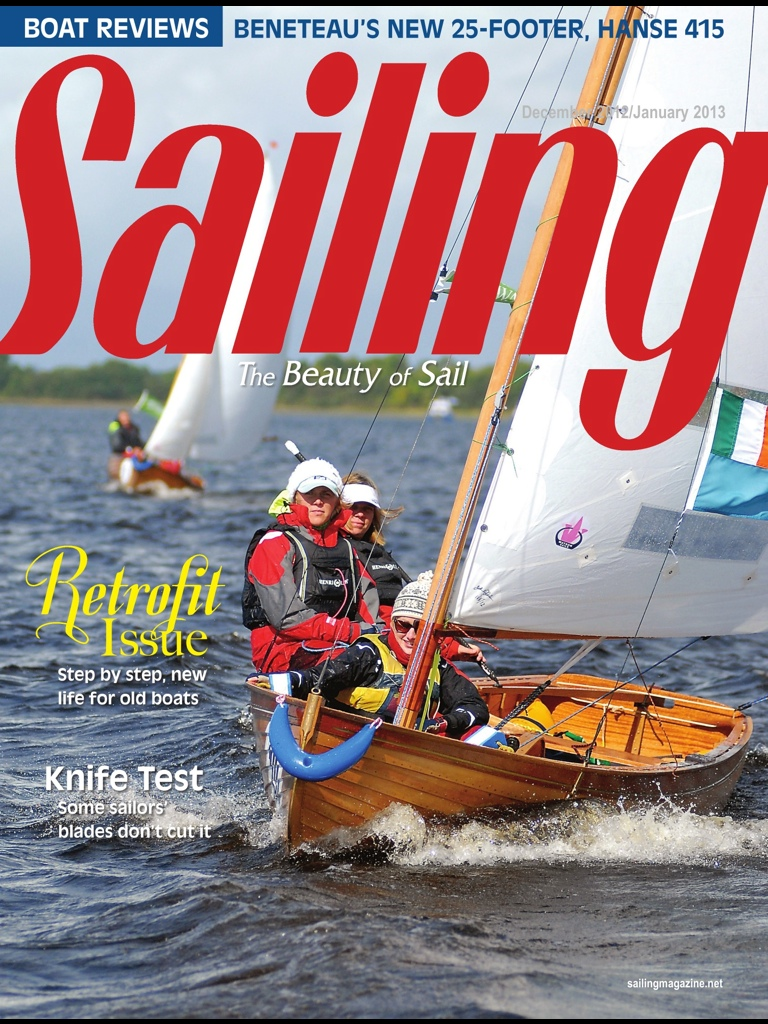 » Cathy Mac Aleavey's New boat appears in leading US Sailing Magazine