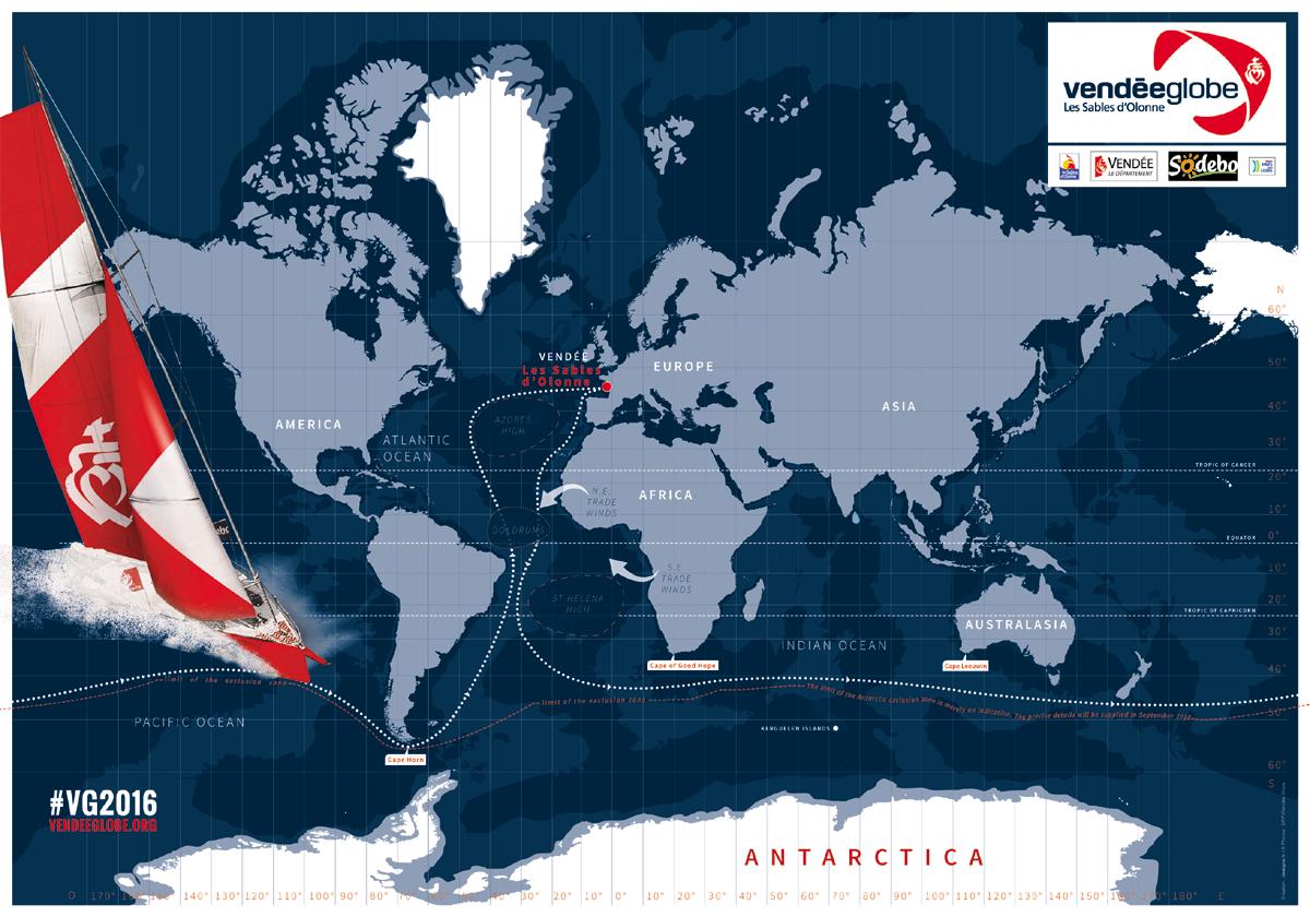 Vendee-Globe-route
