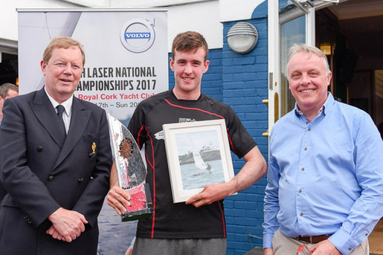 Finn Lynch Laser National Champion
